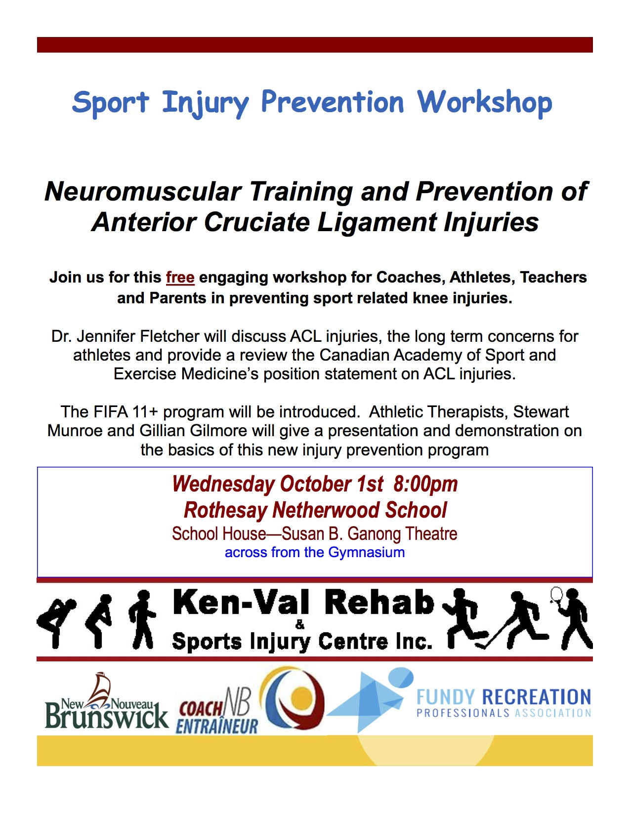 ACL injury workshop